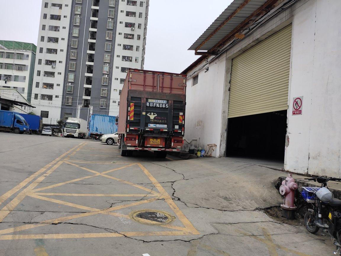 坂田原房东直租2600平钢构带消防喷淋,红本,卸货平台