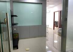 龙岗3号线爱联地铁站200米精装修写字楼103平出租