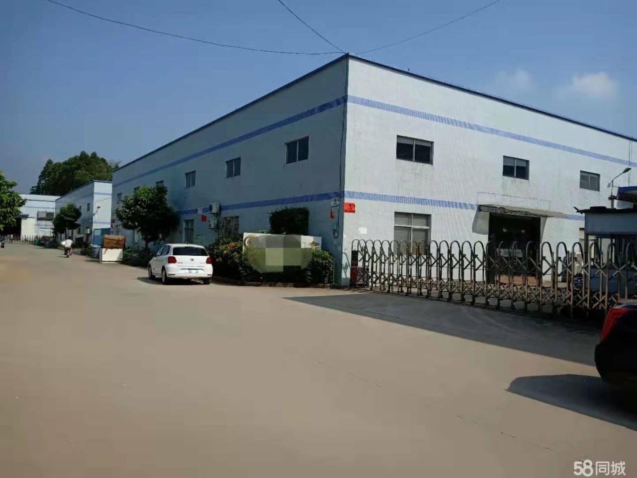 龙岗横岗独院带航车钢构厂房仓库出租3980平米滴水8米钢结构
