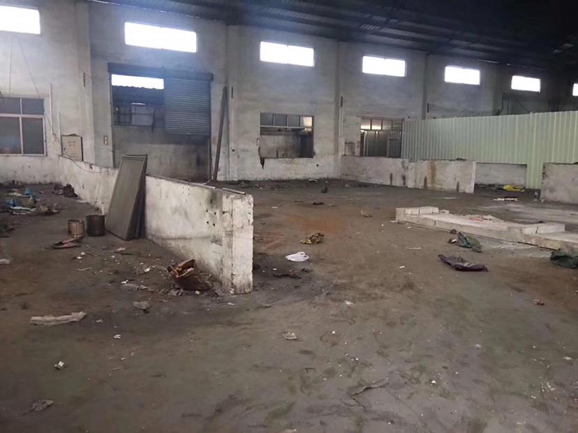 中山东升镇镇南工业区单一层铁皮1280平方