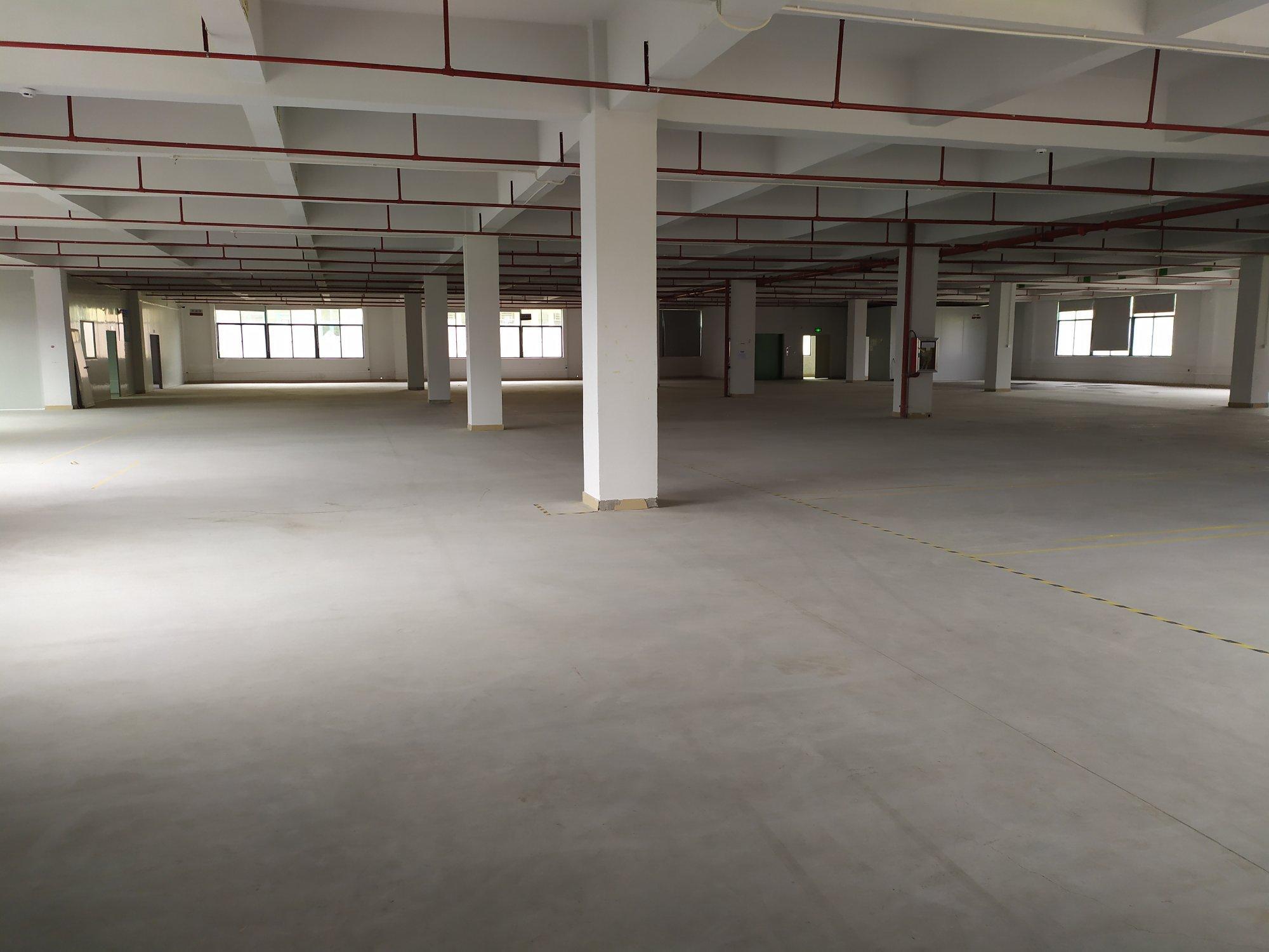 惠阳区永湖镇工业园1-3楼6000平方可分租