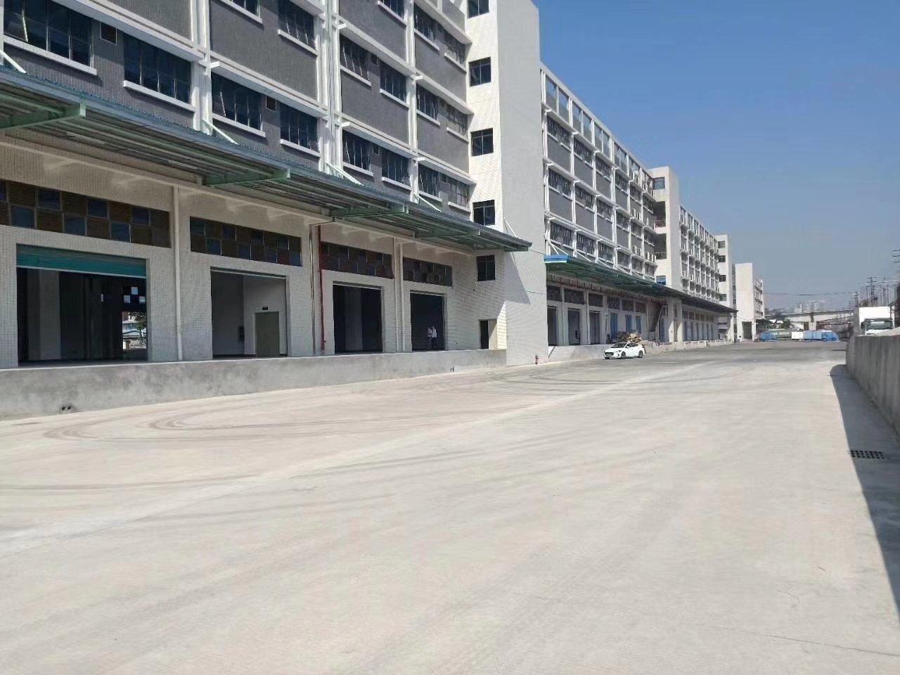 双面货台的物流仓库厂房20000平米招租