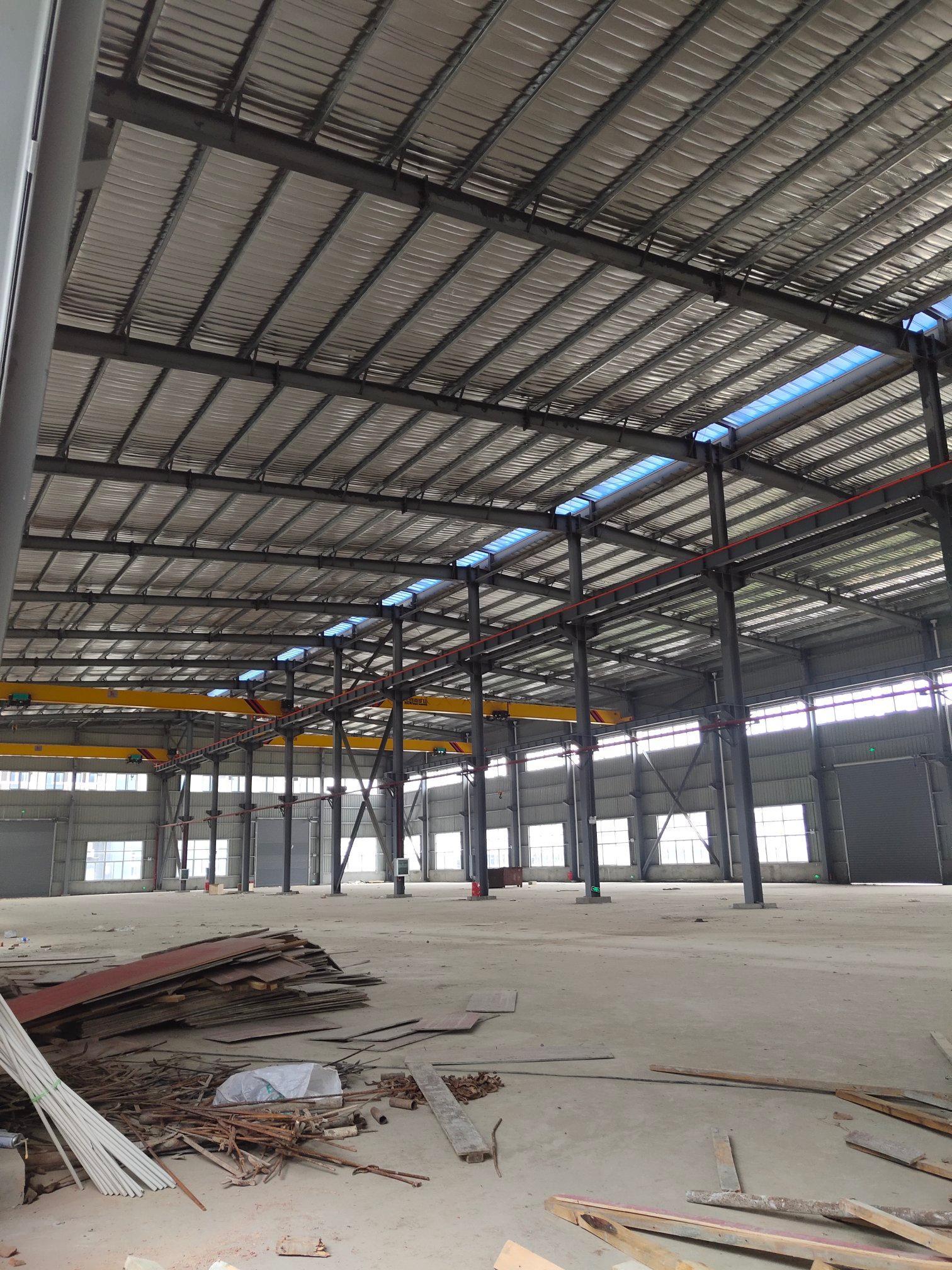 汉口北全新钢构厂房一千出租,方正实用