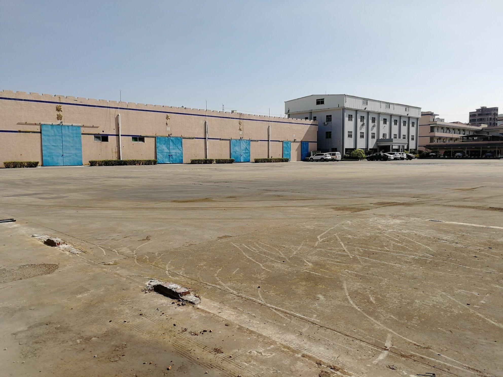惠州惠阳新圩红本厂房4000平带现成牛角行车玻璃环评