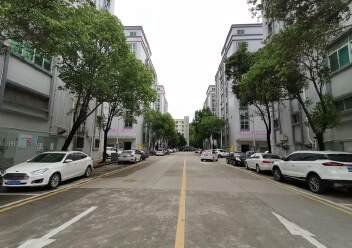 深圳龙华大浪商业中心附近沈海高速路口旁精装修办公室大气前台图片5