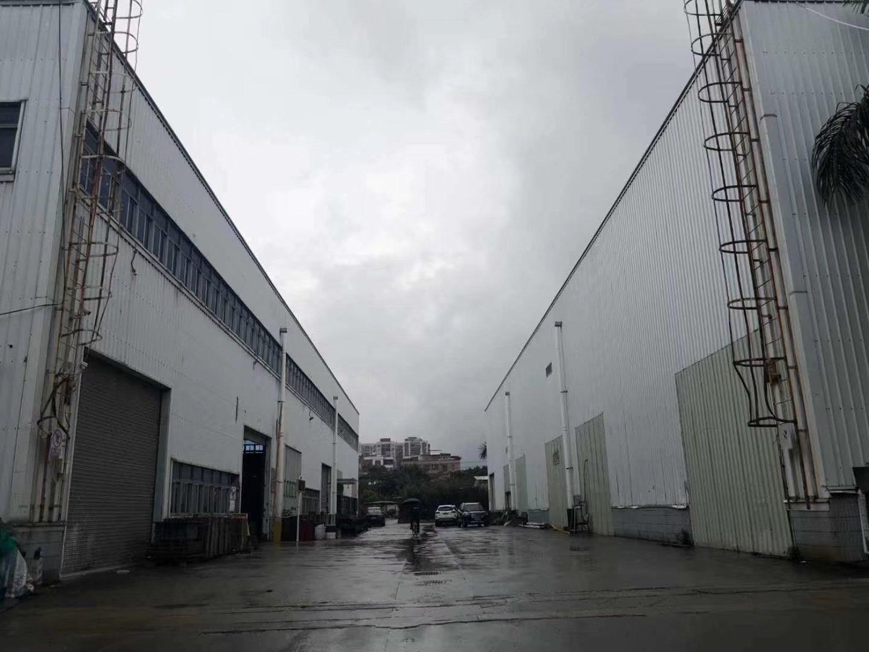 出售坪山主干道边滴水11高钢构厂房建筑面积8500平