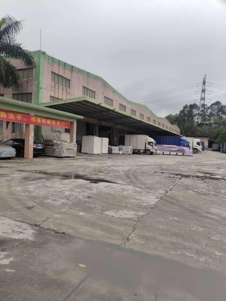 黄江靠深圳单一层高台仓1.5万平适合电商仓储物流分运