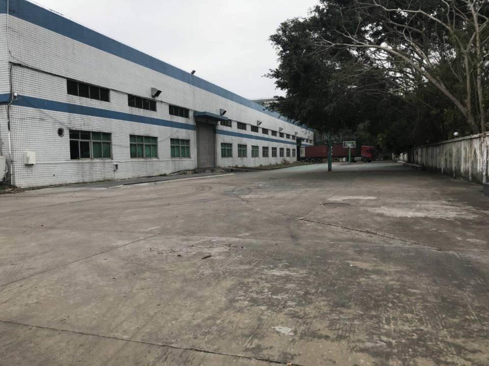 龙岗盐龙大道边上新出工业园钢构厂房2000平方出租