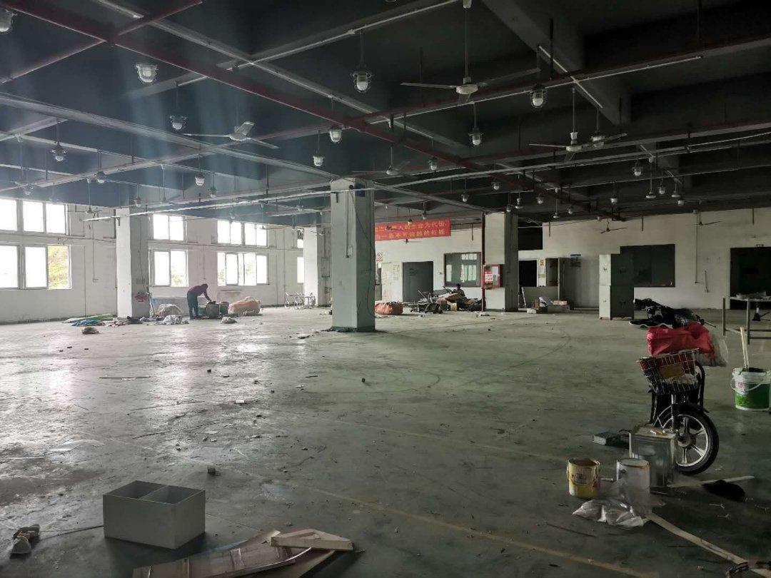 观澜章阁新出楼上900平带豪华装修标准电梯花园式厂房