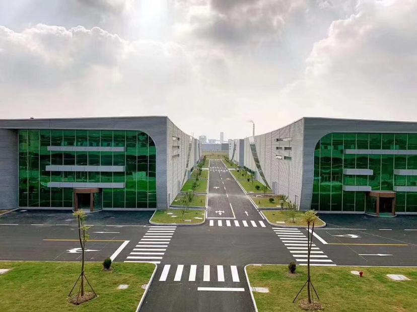 肇庆最顶级单一层厂房!9000平米一栋。,滴水13米