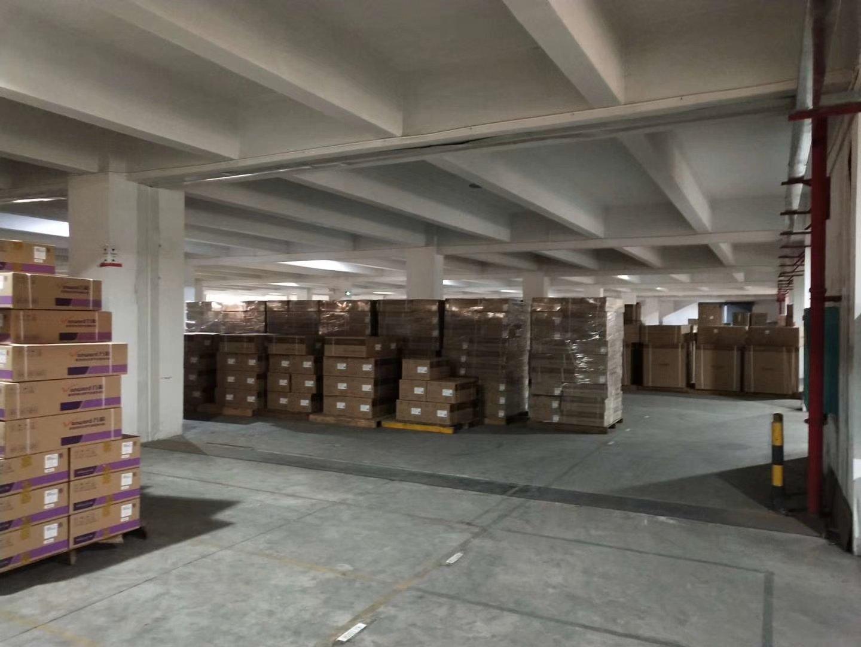 顺德容桂华口工业区新出带印花牌照标准厂房二楼8000平