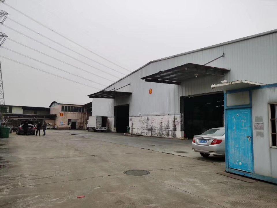 黄埔文冲姬堂附近新出滴水8米标准一楼钢构厂房仓库出租