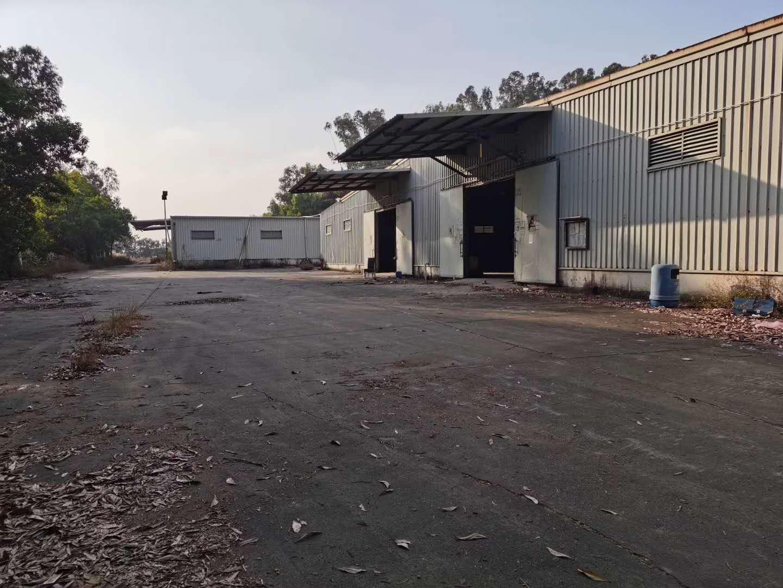 (出售)独门独院钢构厂房单层总面积8500平方