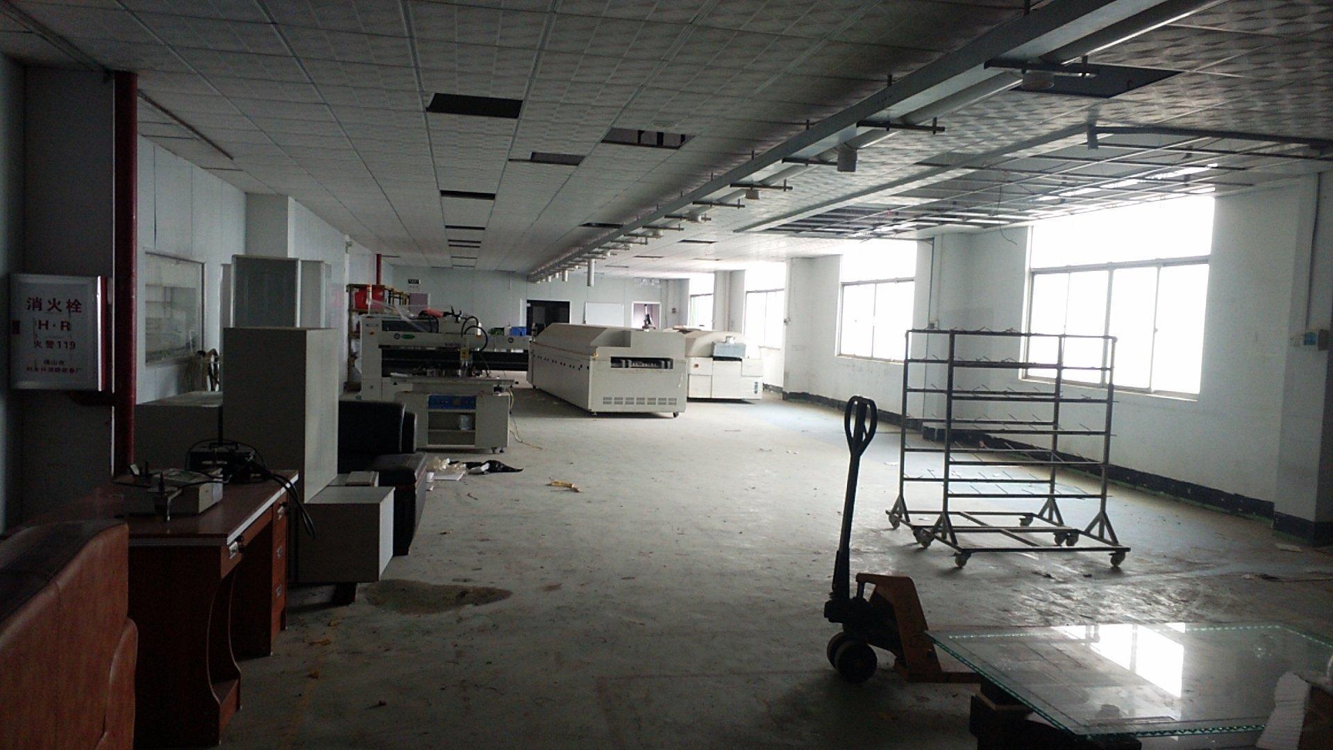 惠城区江北镇标准厂房分租1楼1050平方