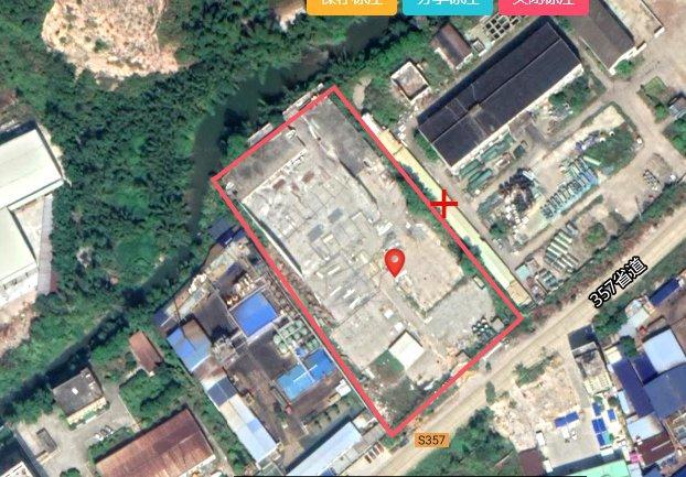12355㎡惠州惠阳永湖国有红本二类工业地皮出售省道边