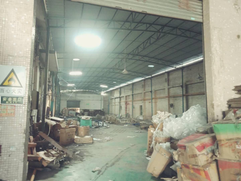 中山市大岑单一层1700方厂房出租,空地面积大
