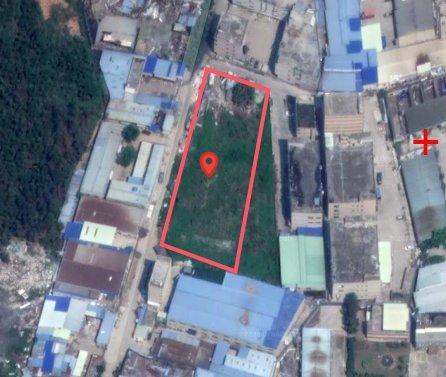 惠阳新圩占地5274㎡国有证工业地出售临深1.5公里