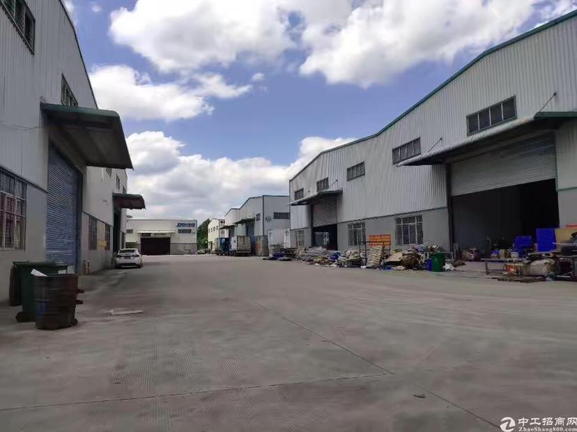 广州增城区新塘镇工业区原房东4300平方标准厂房仓库出租