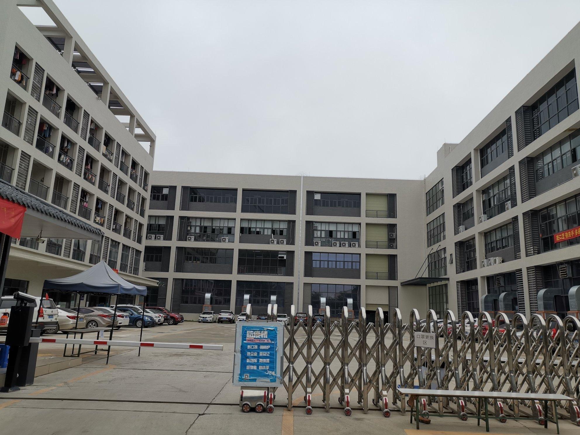 惠州大亚湾588㎡/层红本标准厂房按层出售大小可分可按揭