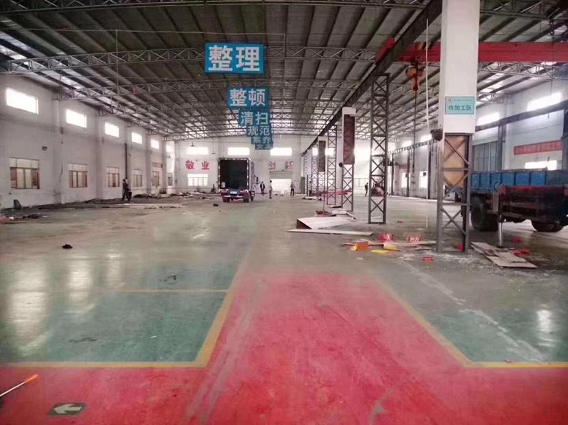 中山东升镇砖墙到顶单一层厂房3200平方
