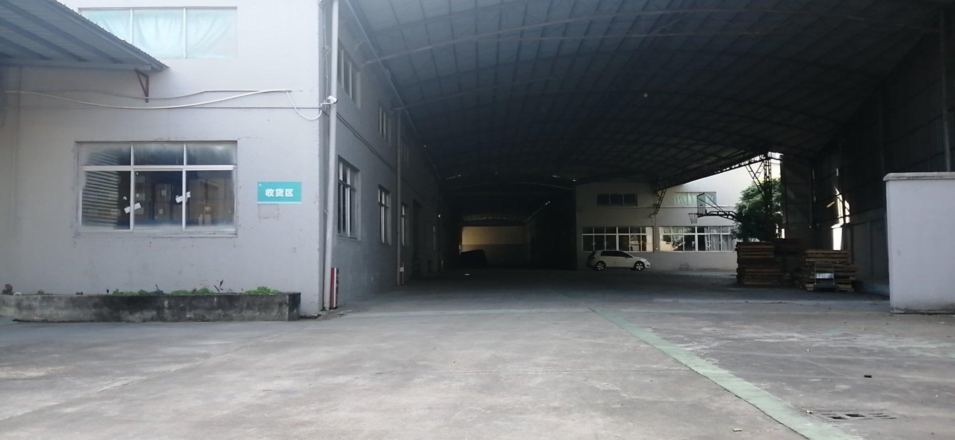 花都区新华镇工业区独门独院砖墙到期单层仓库5000平米出租