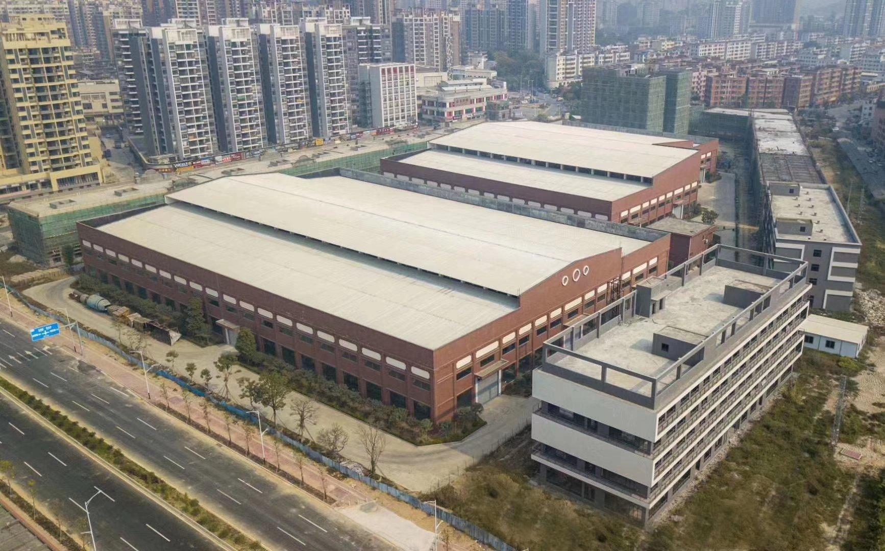 肇庆国家级高新开发园区滴水12砖墙到顶单一层厂房出售