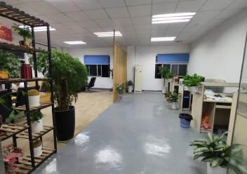 龙岗爱联地铁站旁楼上600平方带装修厂房出租图片6