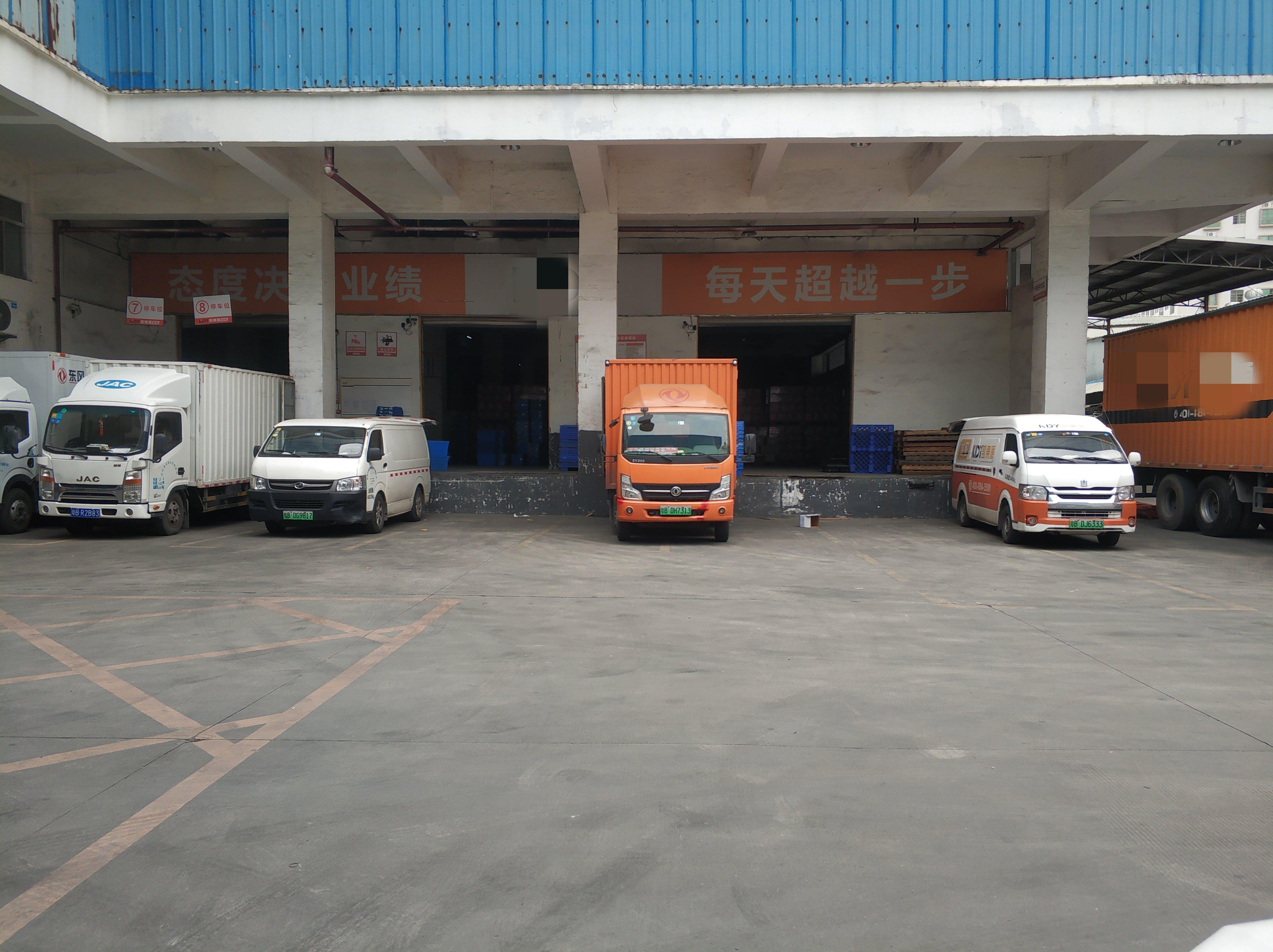 观澜龙观快速路近龙华层高6.6米带卸货平台厂房仓库9500平