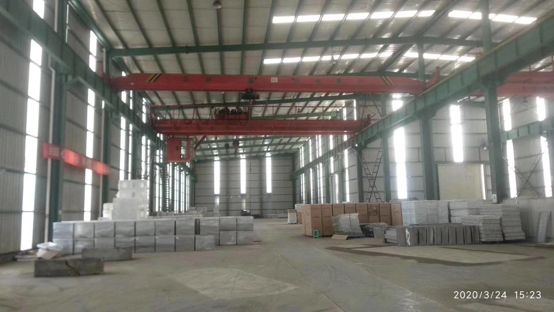 新都工业港带行车钢结构万博app官方下载出租