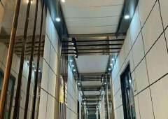 福永地铁口高新创业园全新精装修写字楼大小可分租使用率高有货梯