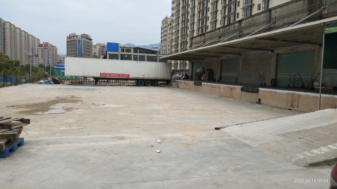 大亚湾龙光城附近带卸货平台物流仓库出租1500平米