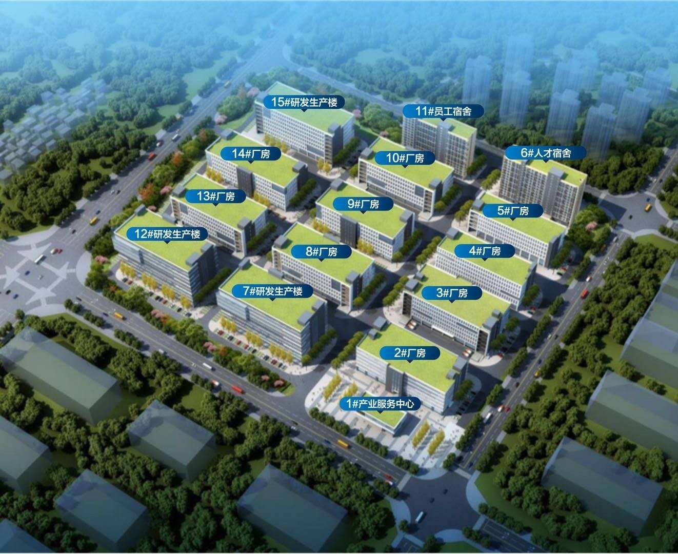 《惠州陈江交界处东莞谢岗大型工业园区内红本厂房分割1000平