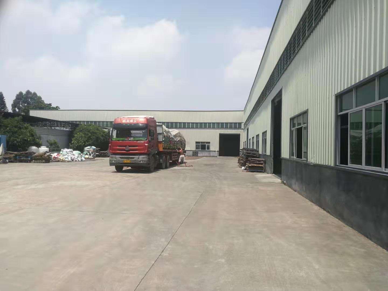 惠州博罗主干道路边独院厂房6500平米滴水高9米12元招租