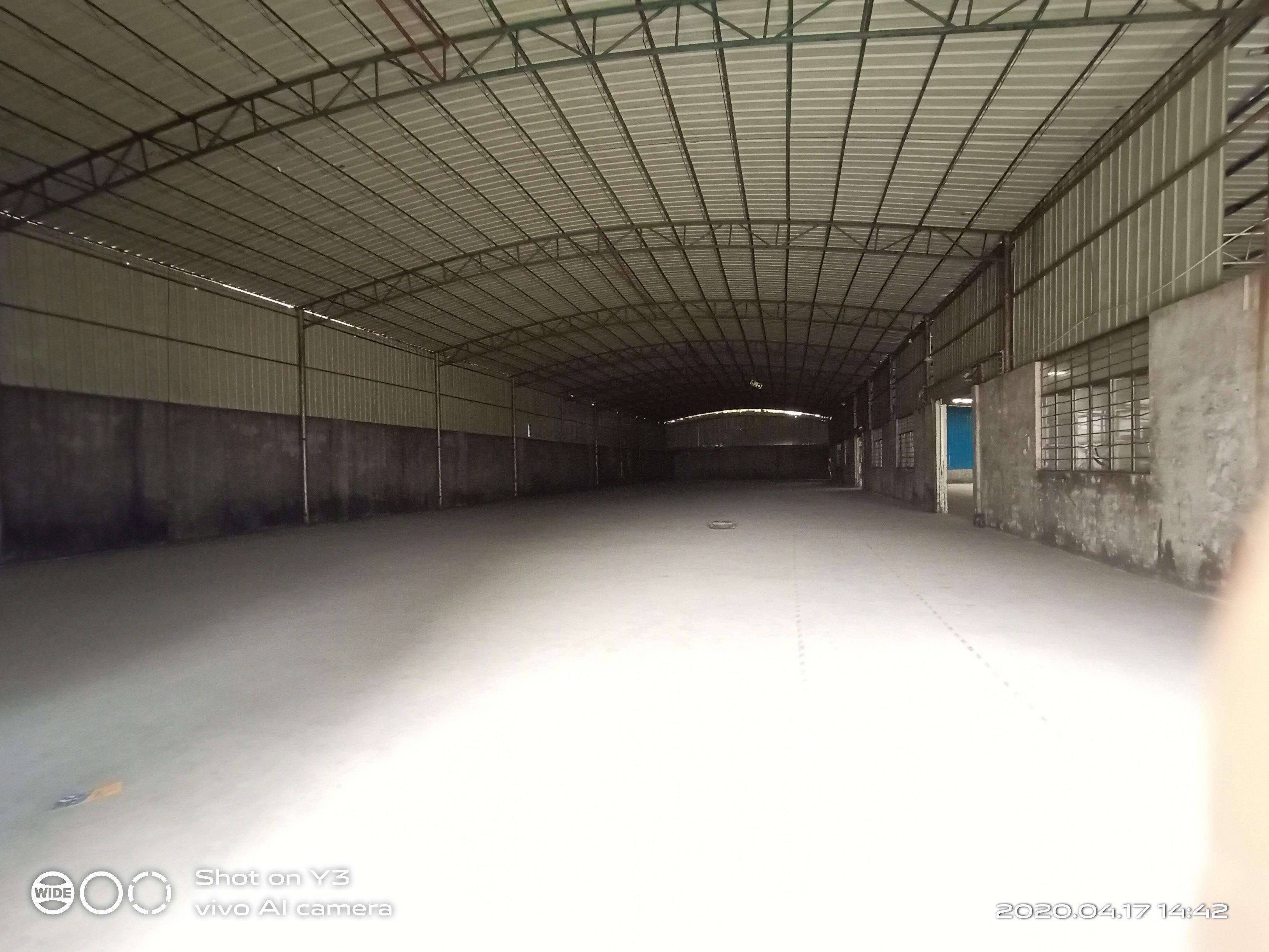 从化太平工业园区单一厂房仓库出租