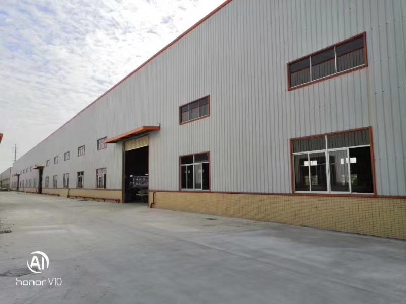 中山市南朗10米高全新钢构厂房总面积22330平方!
