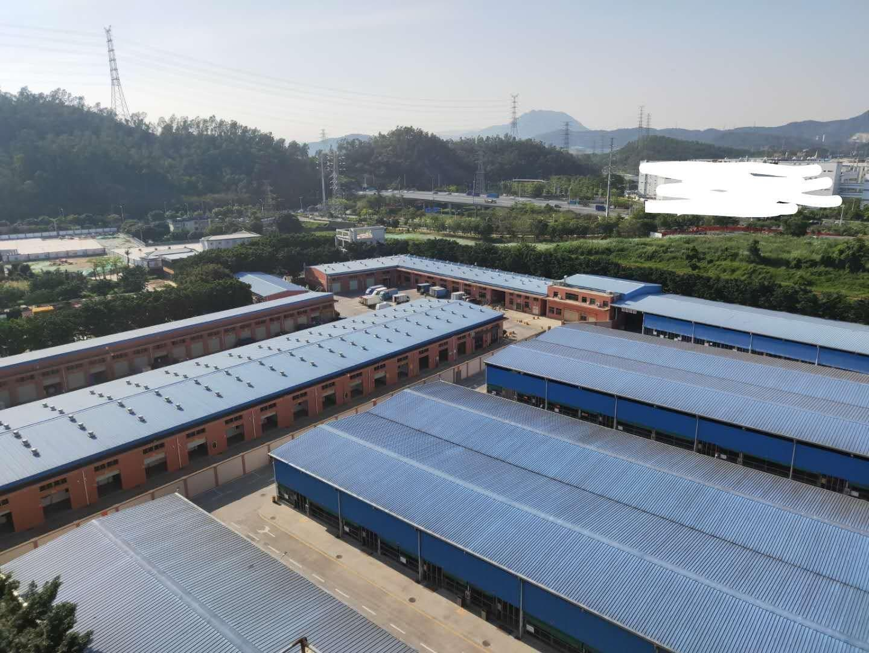 松岗主干道边新出原房东厂房25,000平方适合做物流仓库。
