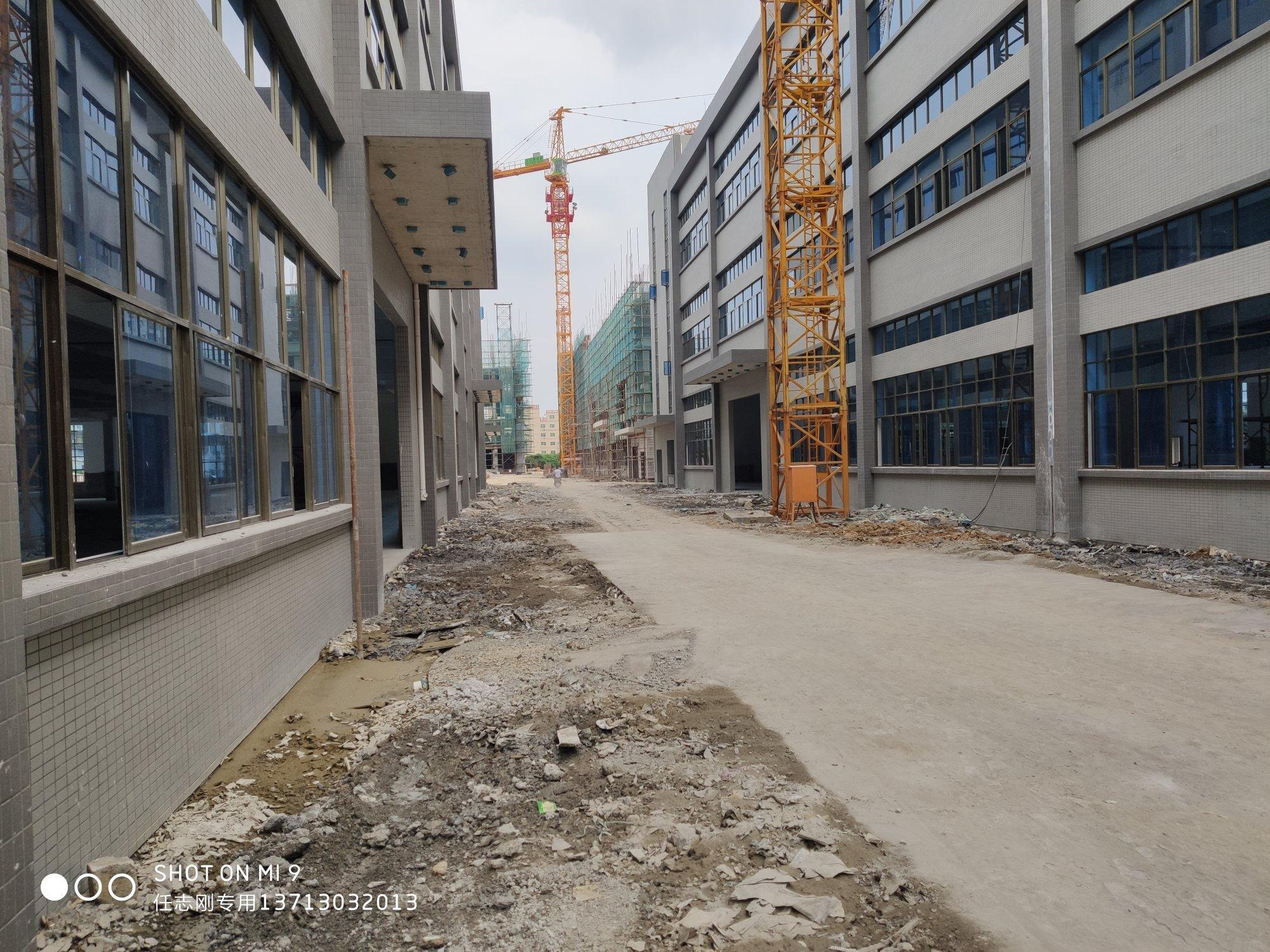 惠州市博罗县龙溪镇高速出口原房东独院标准厂房45000平米