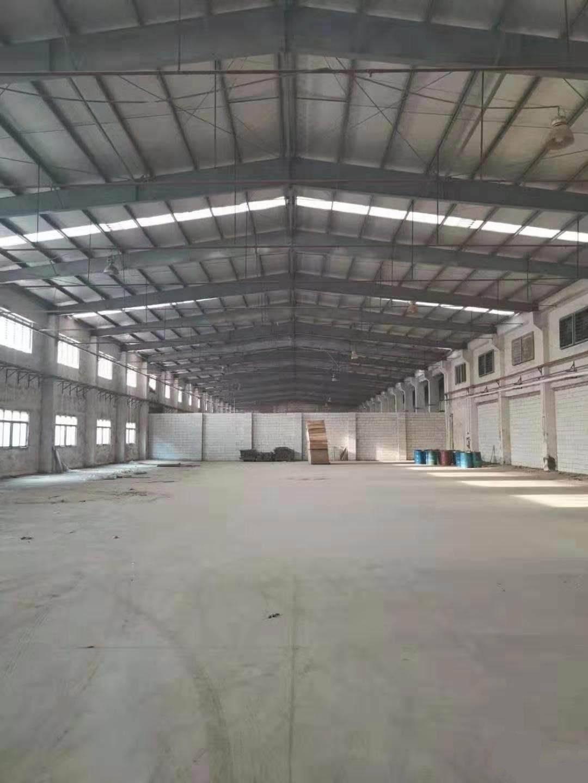 厚街环冈新出2400平单一层带卸货平台仓库,空地超大,位置好