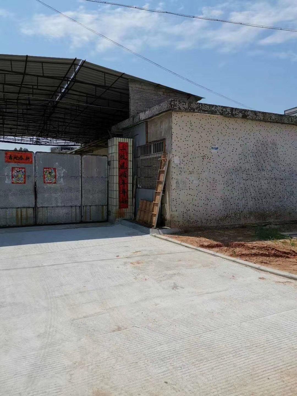 惠州博罗主干道旁一楼仓库4000平方低价5元招租可分租