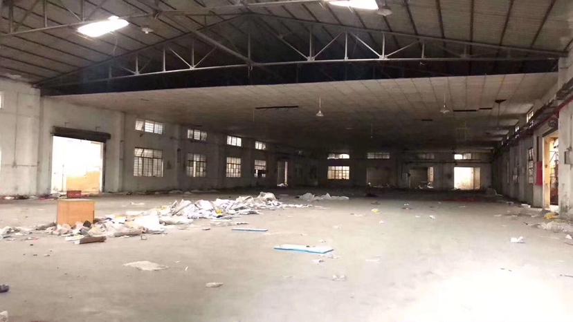 中山东升镇单一层独门独院铁皮厂房2700平方