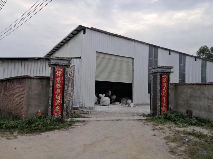 博罗龙华独院全新钢构1000平招租200米无居民可做小污染