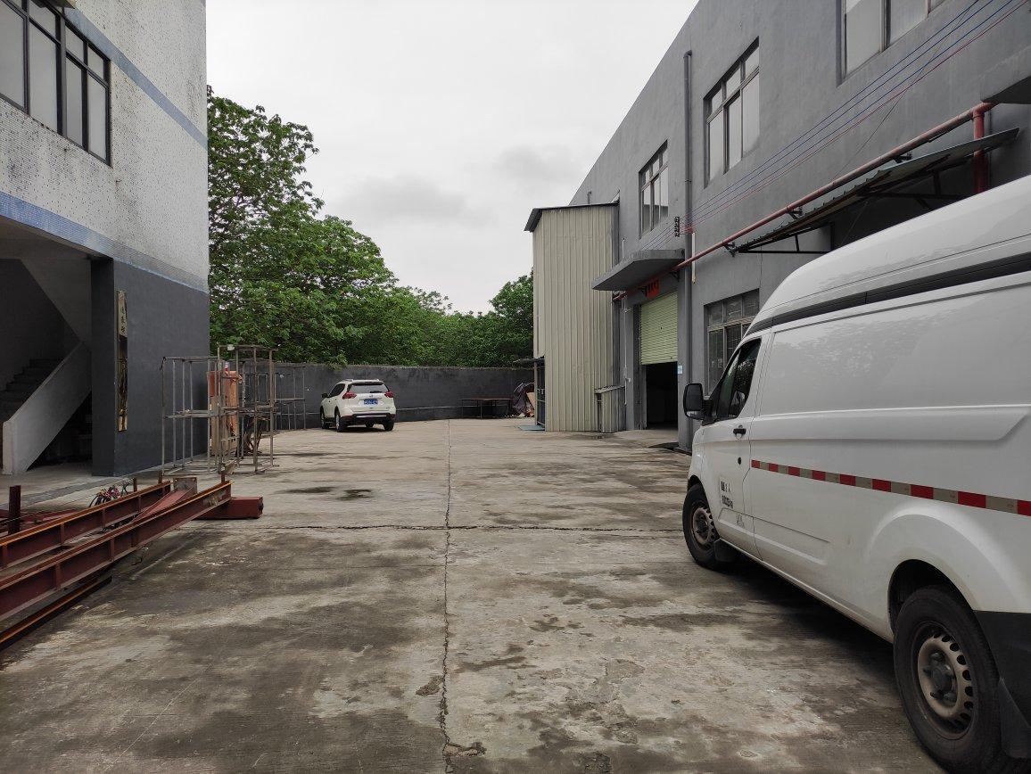 白云区嘉禾街道独院厂房分租一楼450平方,报价18元适合仓库