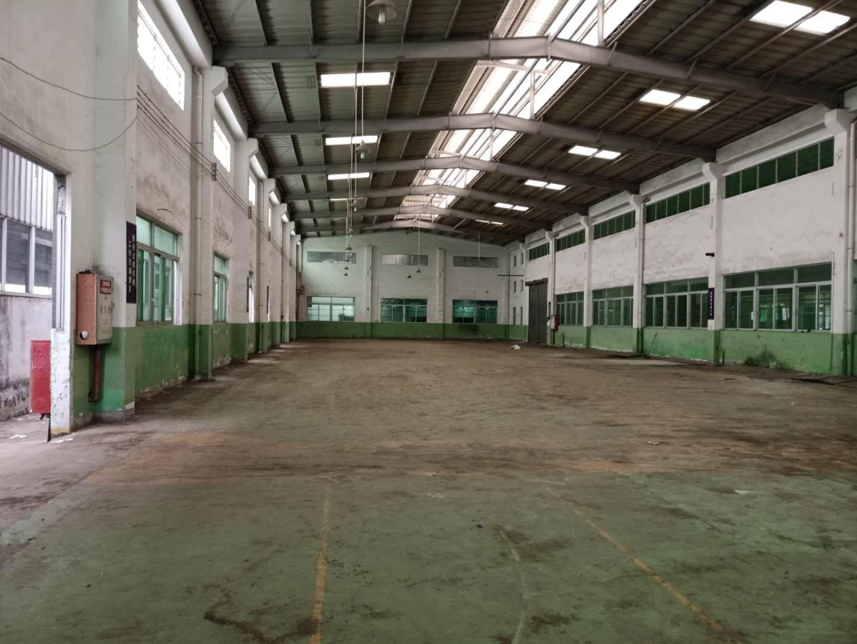 中山市黄圃镇大雁工业区单层钢构铁皮滴水8米厂房