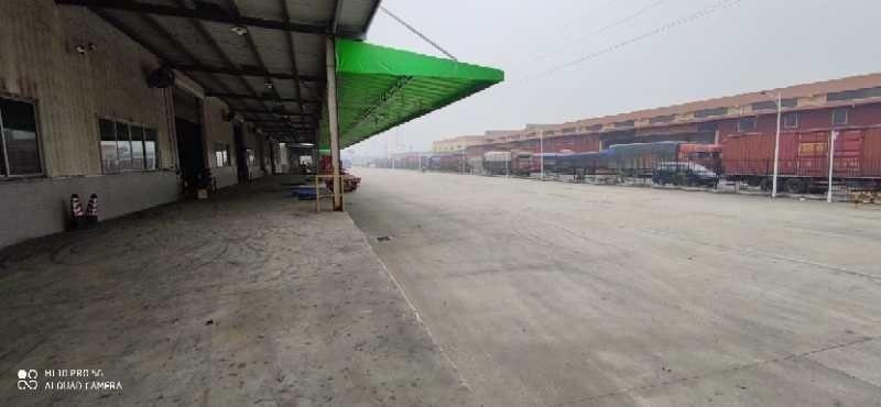 三水白泥3100方高台仓带月台主干道边道路宽敞滴水12米