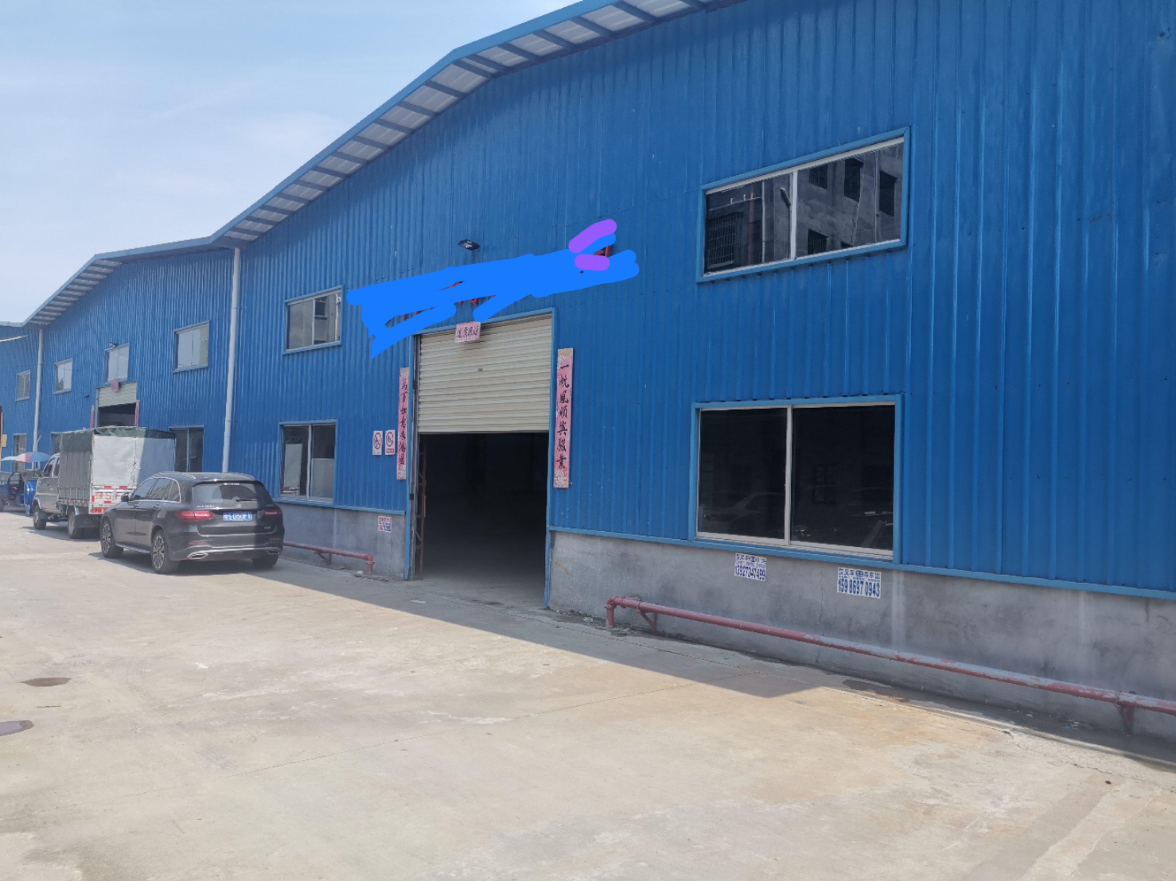 石湾镇一手独院钢构厂房2680平方滴水10米高