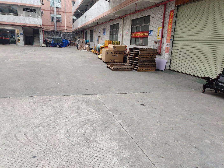 白云区均禾街道独院厂房分租一楼1500平方报20元适合做仓库