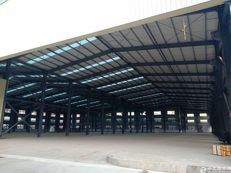 博罗福田,滴水超12米,钢结构现成牛角位9米可以承重25吨行