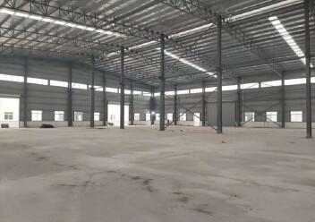 江门市冲蒌镇全新单一层钢构厂出租,可按需分租,有宿舍办公楼图片4