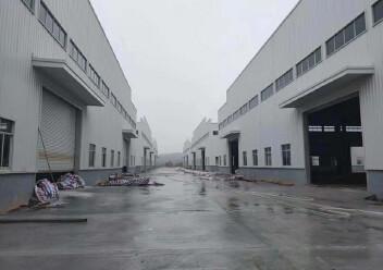 江门市冲蒌镇全新单一层钢构厂出租,可按需分租,有宿舍办公楼图片2