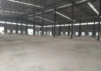 江门市冲蒌镇全新单一层钢构厂出租,可按需分租,有宿舍办公楼图片1